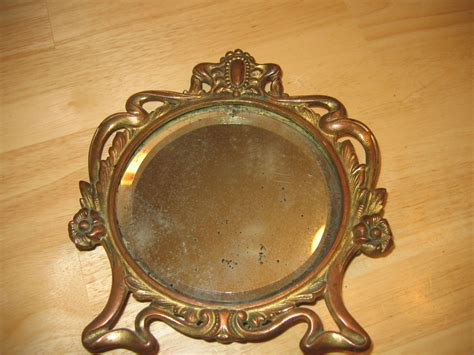 Value Of Antique Vanity With Mirror by Antique Gold Gilt Vanity Mirror Item 604 For Sale