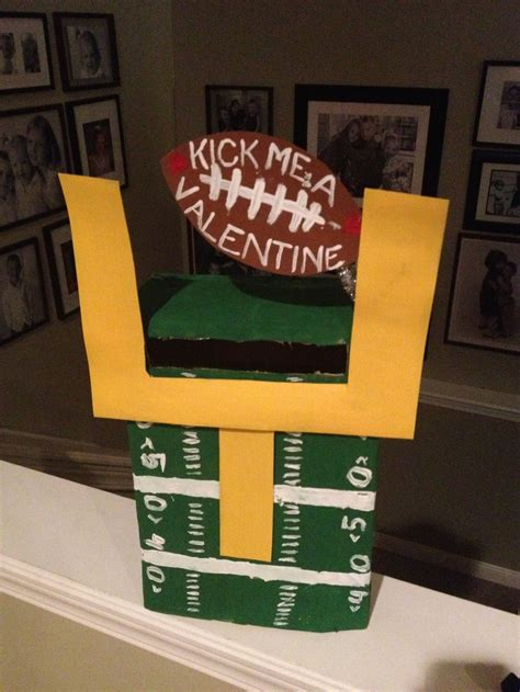 soccer valentines box s boxes for boys easy valentines box for boy