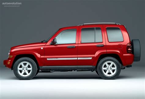 red jeep liberty 2005 jeep cherokee liberty specs 2005 2006 2007 autoevolution
