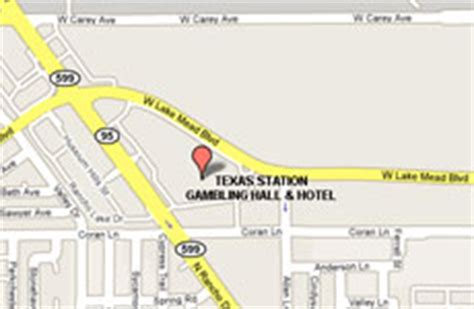 texas casinos map texas station and hotel las vegas