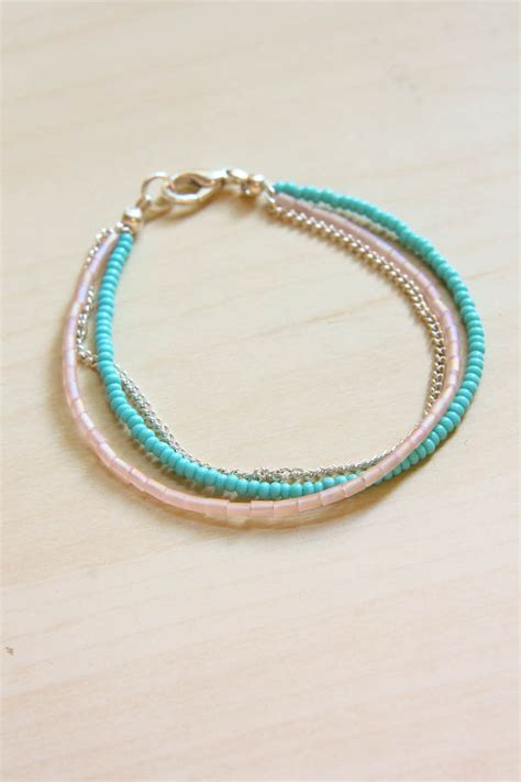 seed bead diy summer seed bead bracelet diy tutorial