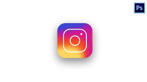 design a logo for instagram instagram new logo design photoshop tutorial youtube