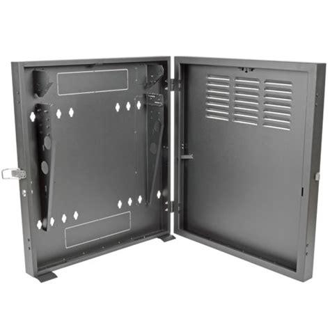 smartrack 2u low profile vertical mount switch depth wall