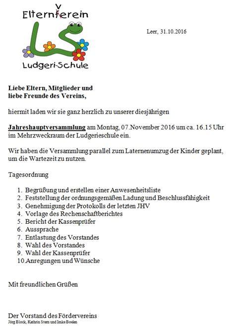 Muster Einladung Eigent Merversammlung gem 252 tlich vorlage der tagesordnung galerie