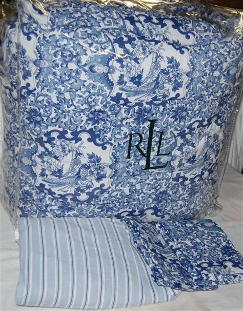 ralph king comforter set ralph porcelain blue comforter set new 1st