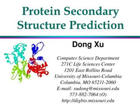 7 protein classes ppt class 7 protein secondary structure powerpoint