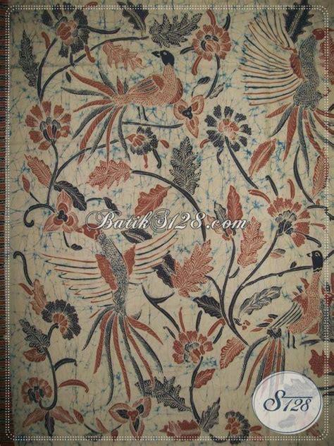 batik tulis warna alam bahan katun primisima halus berkualitas motif burung k952ta