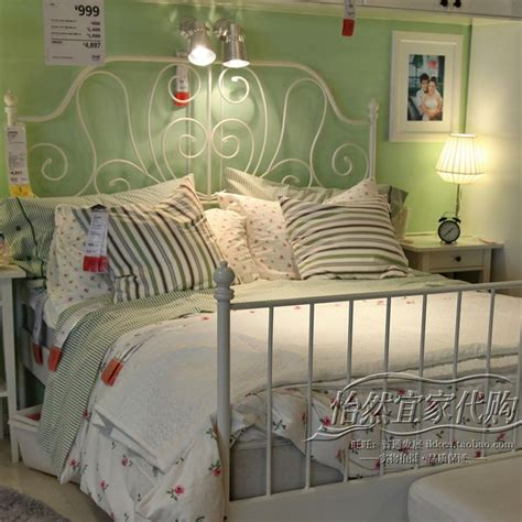 ikea steel bed frame 1000 ideas about metal bed frames on buy bed