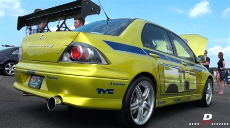 mitsubishi lancer evolution fast and furious paul walker s quot 2 fast 2 furious quot mitsubishi evo youtube