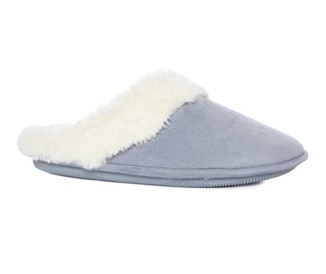 primark slippers blue memory foam mule slipper for primark