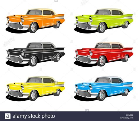 different colored different colored cars stock photo royalty free image