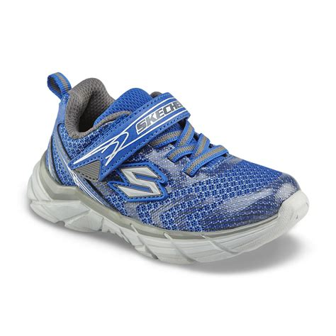 skechers toddler shoes skechers toddler boy s rive blue athletic shoe