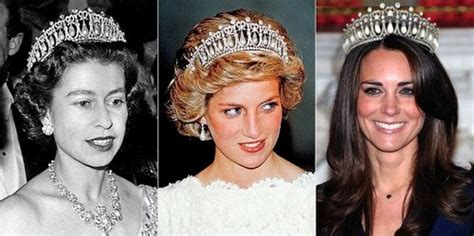kate middleton stuns in cambridge love knot tiara at diplomatic kate middleton given princess diana tiara by queen
