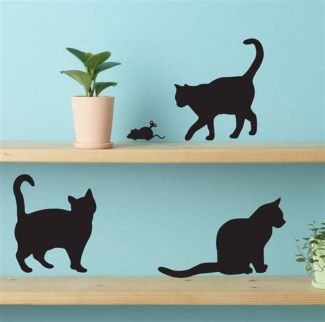 cat wall sticker cat wall stickers by moriarty co