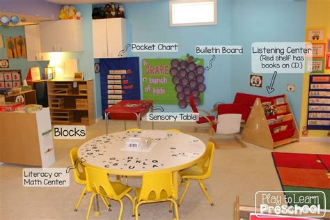 kindergarten classroom layout centers play to learn preschool classroom tour and design ideas