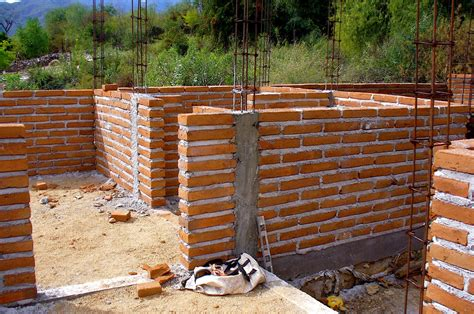 how to build a brick alt build building a brick house in mexico