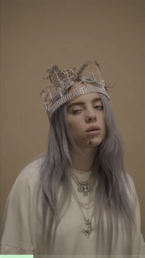 billie eilish you you should see me in a crown billie eilish pinterest