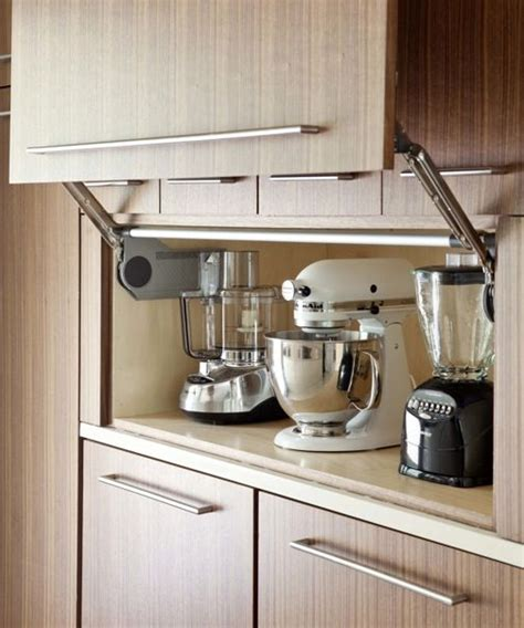 kitchen appliance cabinet storage 35 variety of appliances storage ideas for your kitchen that fit your choice