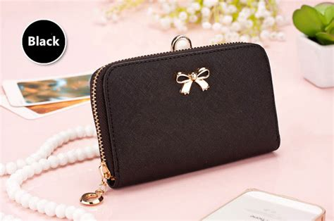 smart leather cell phone iphone samsung wallets credit card wallet  women pw cheap cell