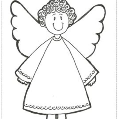 simple angel coloring page simple angel coloring page kids drawing and coloring pages