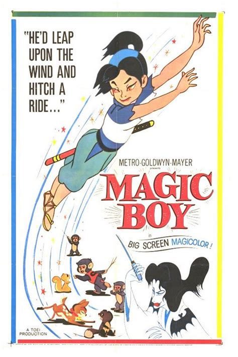 the magically brilliant boy books moviemorlocks anime goes west magic boy 1959