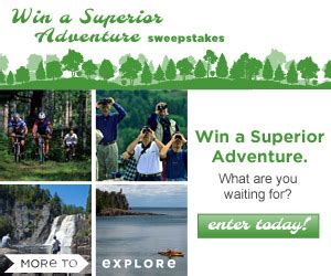 Minnesota Sweepstakes - enter the explore minnesota sweepstakes for a chance to win a vacation more great prizes