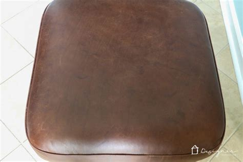 how to refurbish an ottoman learn how to restore leather furniture designertrapped com