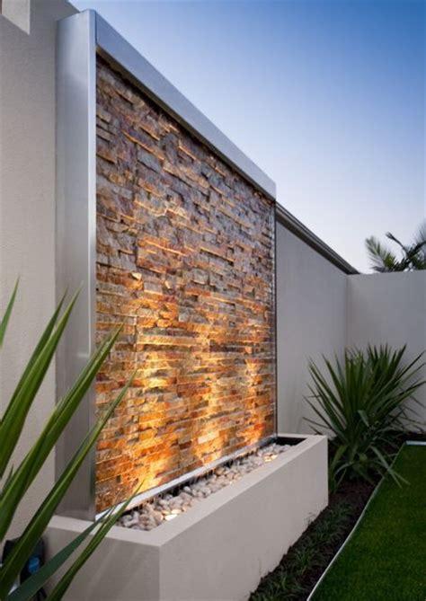 dise帽o de patios y jardines las 25 mejores ideas sobre jardines con paredes de piedra