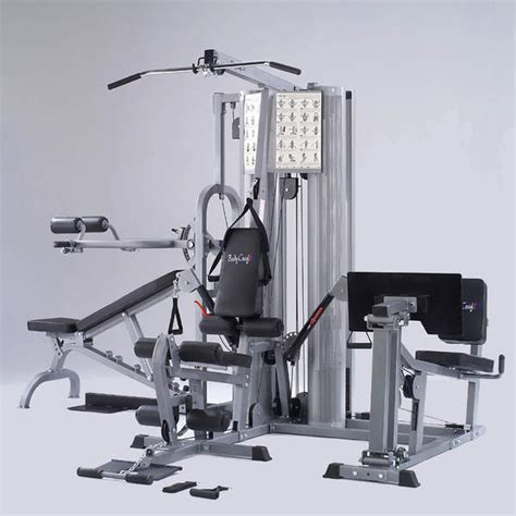 bodycraft k2 2 stack homegym with functional arms at