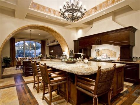 big kitchens with islands is that just a big kitchen island or another dining table