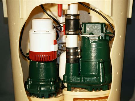 sump parts of our complete waterproofing system
