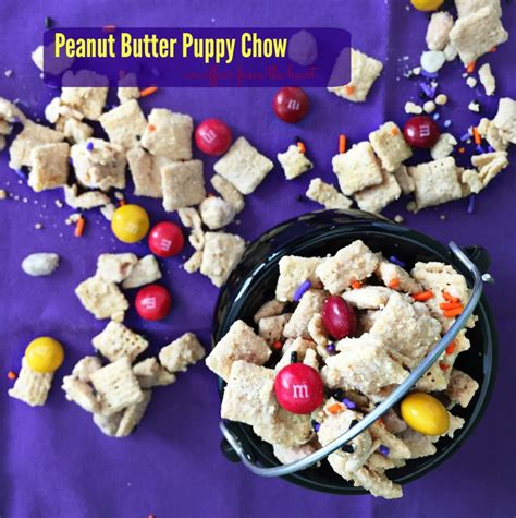peanut butter puppy chow peanut butter puppy chow an affair from the