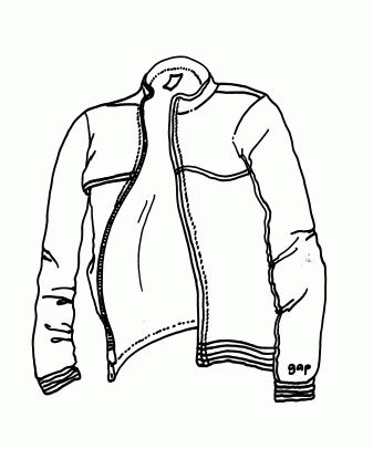 printable coloring page of a jacket jacket coloring pages for free