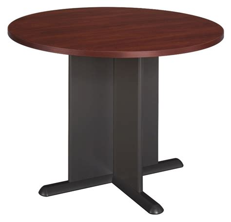 Cherry Conference Table Series A Hansen Cherry 42 Inch Conference Table From Bush Tb90442a Coleman Furniture