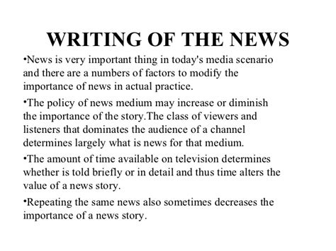 Broadcast News Writing Reporting And Production by Television News Writing