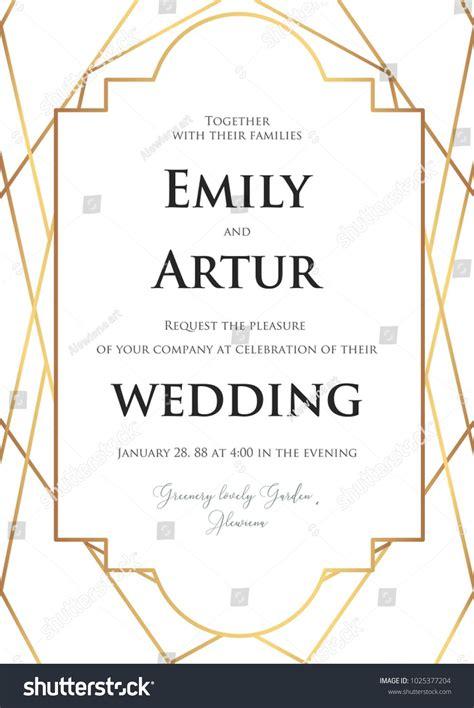 Graphicriver Modern Wedding Invitation Cards Template Vector by Wedding Invite Invitation Save The Date Card Delicate
