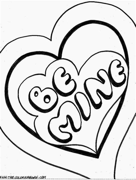 Valentine Coloring Sheets Free Coloring Sheet Free Printable Day Coloring Pages
