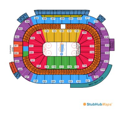 rogers arena floor plan rogers arena seating