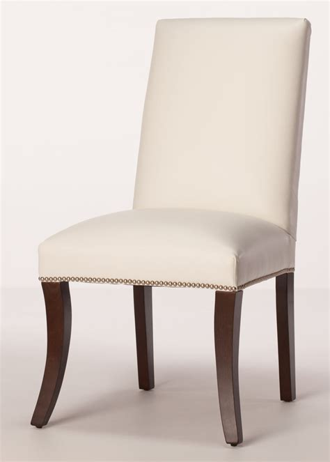 dining chairs sheffield leather parsons dining chair