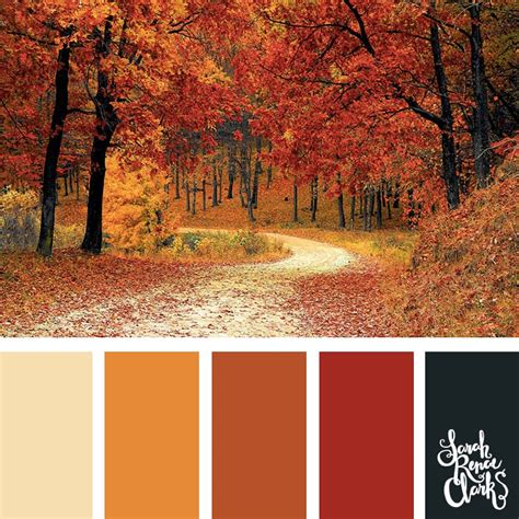 autumn color palette 25 color palettes inspired by the pantone fall 2017 color