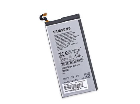 s6 samsung battery samsung galaxy s6 teardown ifixit