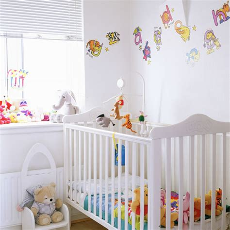 Nursery Decor Uk Nursery Decorating Ideas Ideal Home