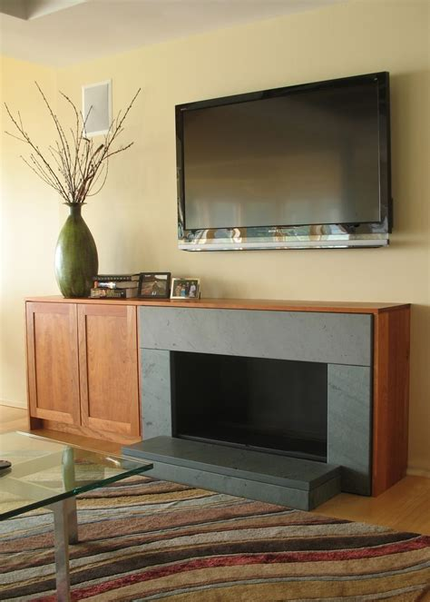 hand  cherry tv cabinet  fireplace surround  ober