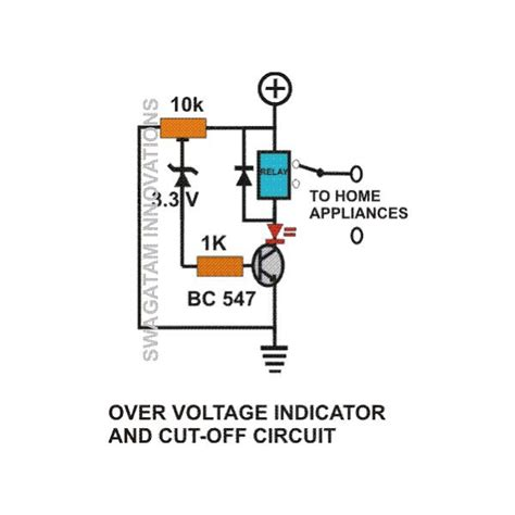 high voltage led indicator circuit how to build simple mains voltage protection circuits low voltage indicator circuit high