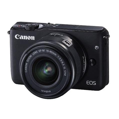 Kamera Canon Eos M 310 jual canon eos m10 ef m 15 45mm kamera mirrorless hitam
