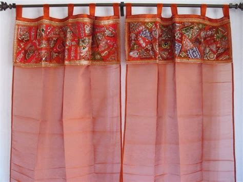 Sari Patchwork Curtain - 9 patchwork curtains along with tutorials guide patterns