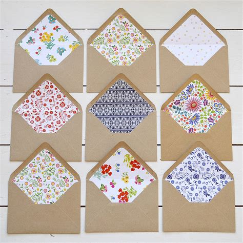 patterned envelope liners diy patterned envelope liners by lucy says i do