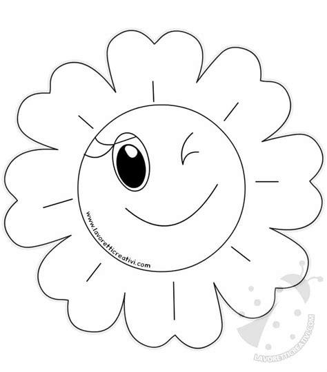 fiori disegni da colorare per bambini disegni di fiori di primavera per bambini da colorare