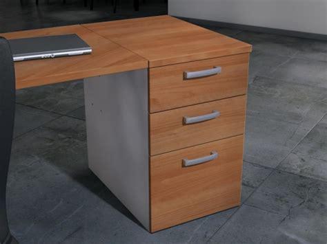 caisson mobile 3 tiroirs avec coussin