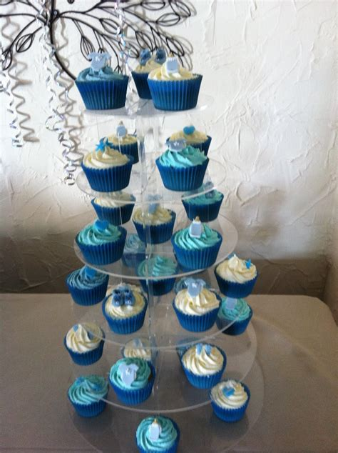 Baby Shower Cupcake Ideas by Cupcake Cutie Baby Shower Christening Cupcakes